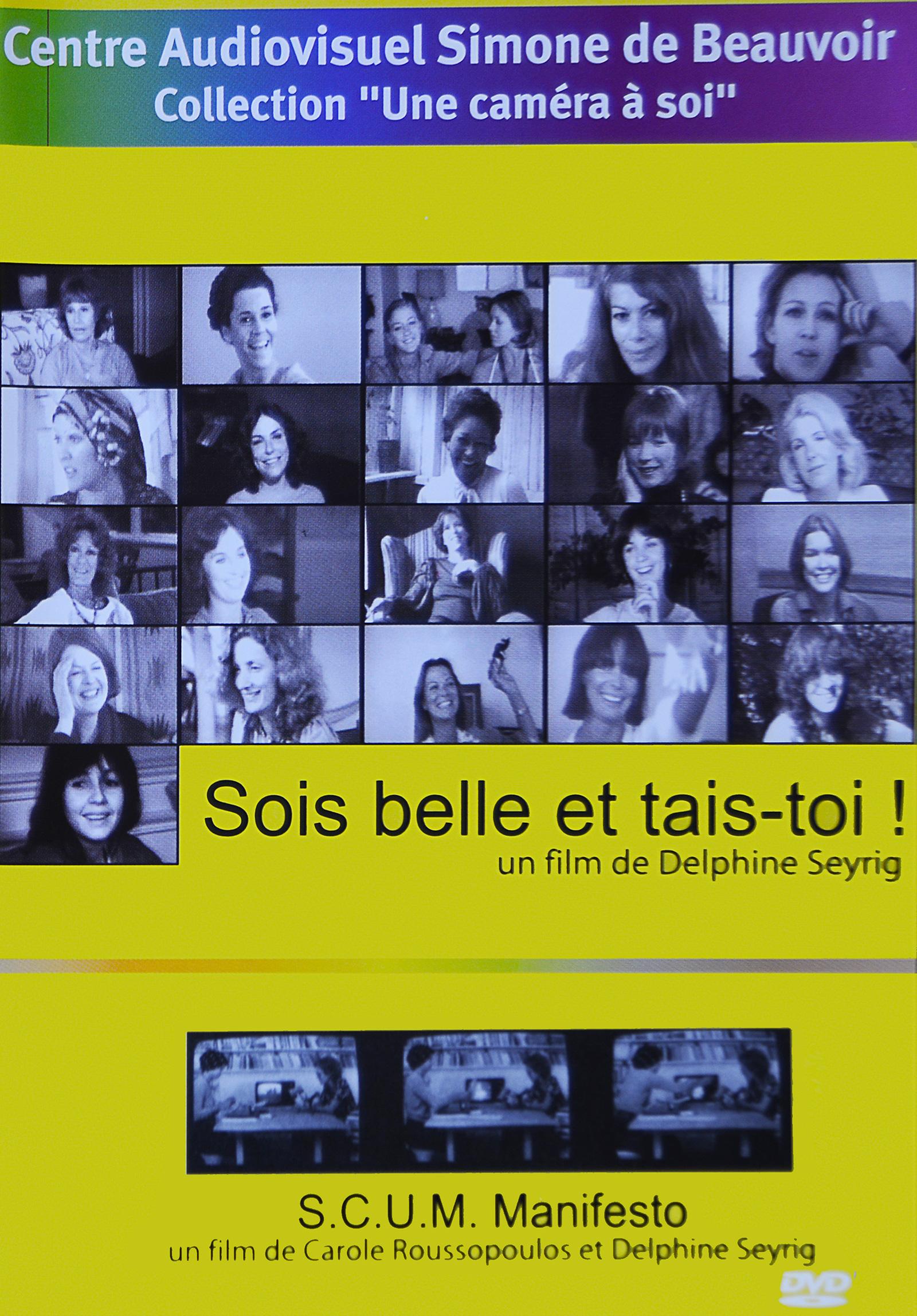 DVD «Sois belle et tais-toi ! & S.C.U.M. Manifesto»