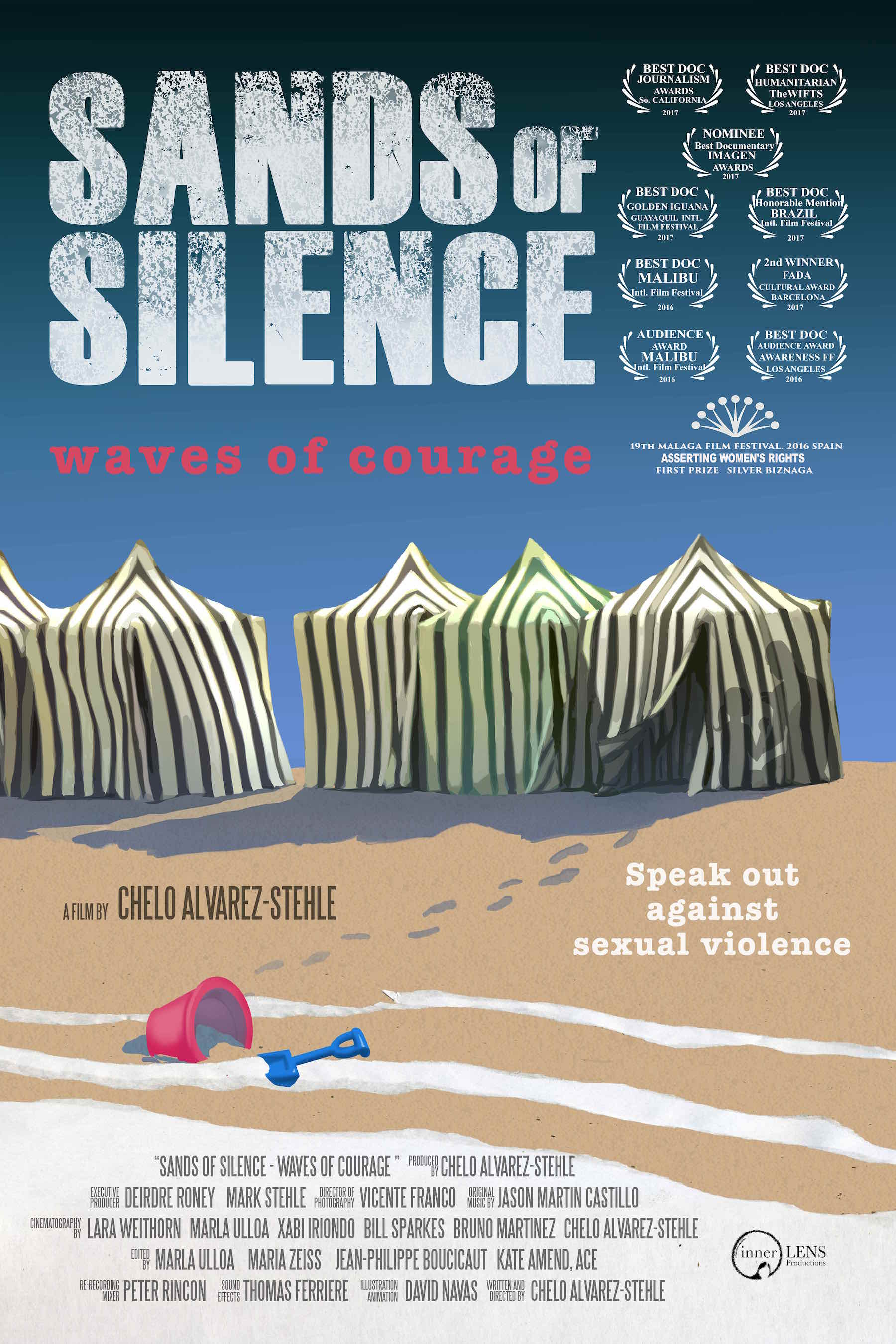Lundi 19 mars à 20h : Projection « Sands of Silence:waves of courage » de Chelo Alvarez-Sthele en sa présence.