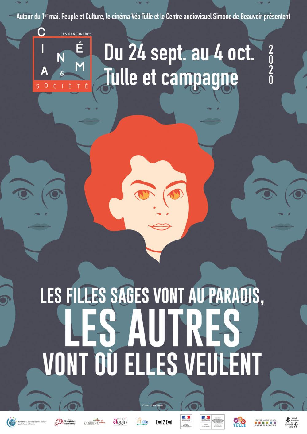 24 sept-4 oct 2020 : Les filles sages vont au paradis, les autres vont où elles veulent  aux Rencontres cinéma et société en Corrèze.